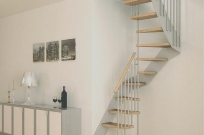 10 Useful Simple Stairs Design for Small House Photos