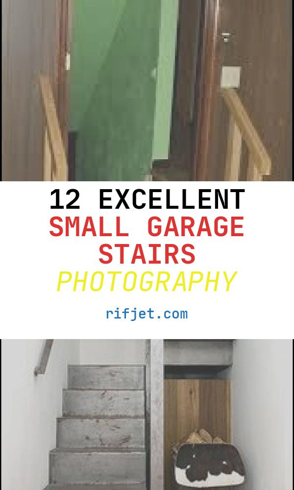 12 Excellent Small Garage Stairs Photography