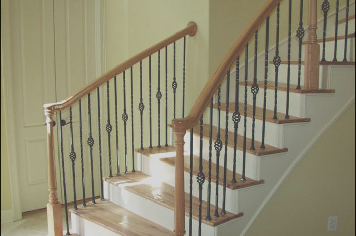 10 Entertaining Stairs Banister Designs Image