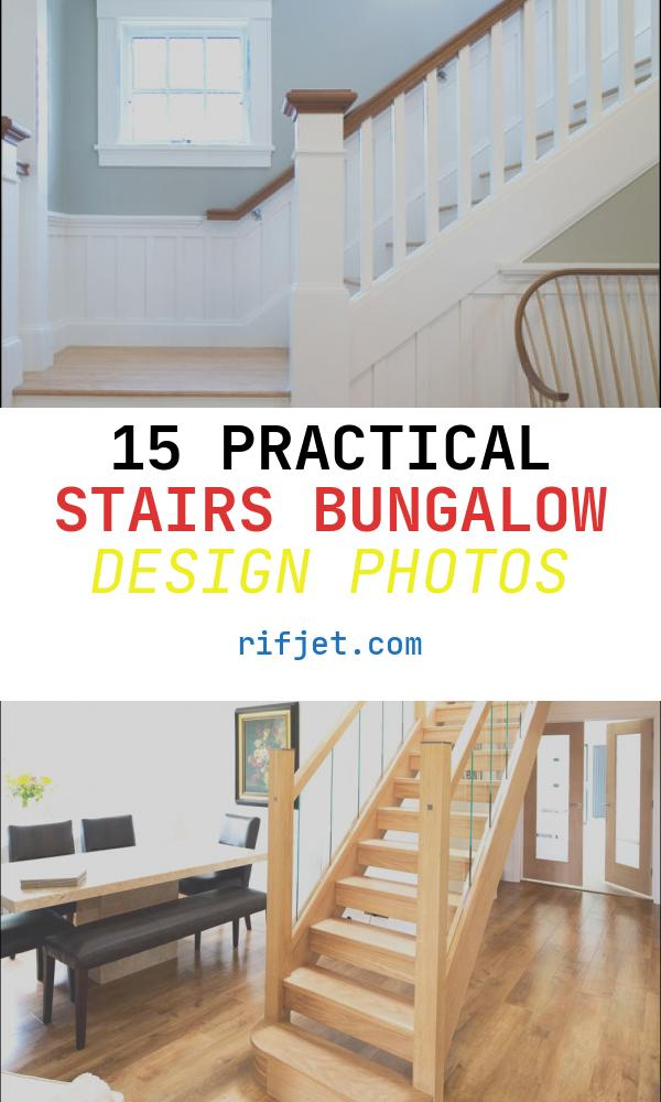 Stairs Bungalow Design New Arts & Crafts Bungalow Craftsman Staircase Boston
