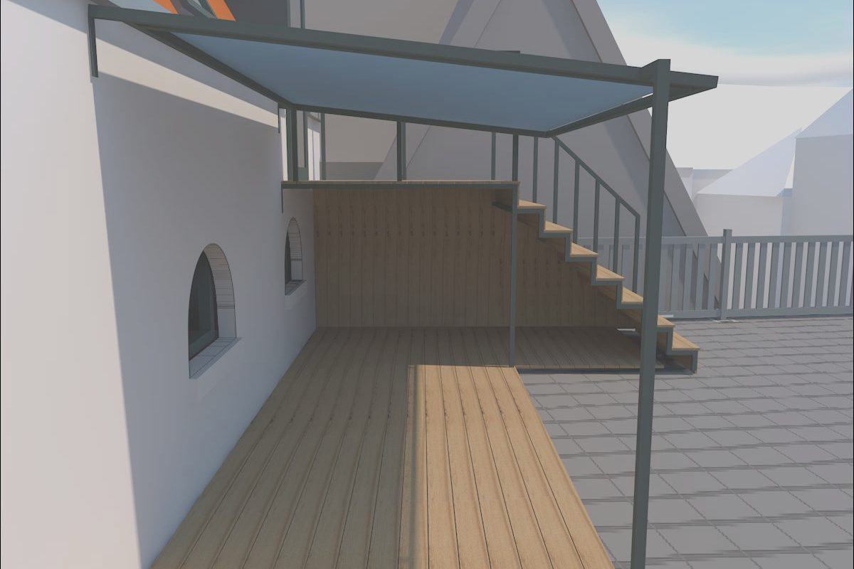 Stairs Canopy Cover Luxury Design and Construction Of Canopy Stairs & Shelter