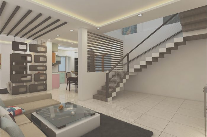 9 Creative Stairs Ceiling Design Photos