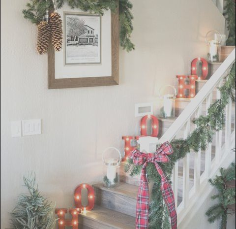 11 Premium Stairs Christmas Decorations Pictures Gallery