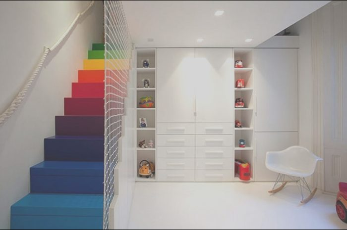 15 Beneficial Stairs Colour Design Photos