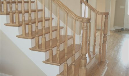 Stairs Designs Latest Fresh Paid A Contractor to Install A Newel Post Railing and