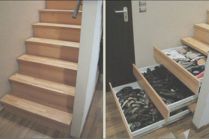 11 Excellent Stairs Drawers Ideas Image