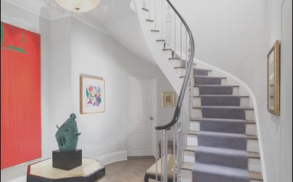 Stairs Duplex Design Inspirational Art Dealer S Duplex Eclectic Staircase New York by