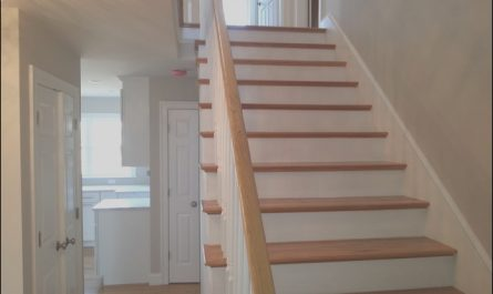 Stairs Ideas for Small House Inspirational Small Lot 3 Level Beach House Beach Style Staircase