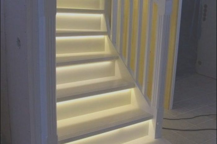 11 Latest Stairs Ideas with Lights Photos