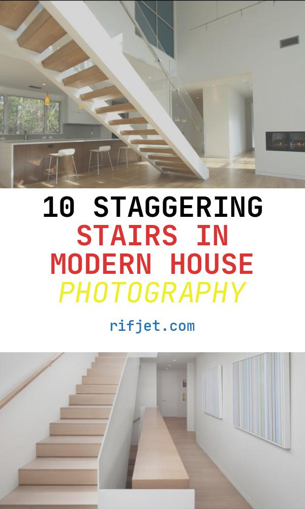 10 Staggering Stairs In Modern House Photography
