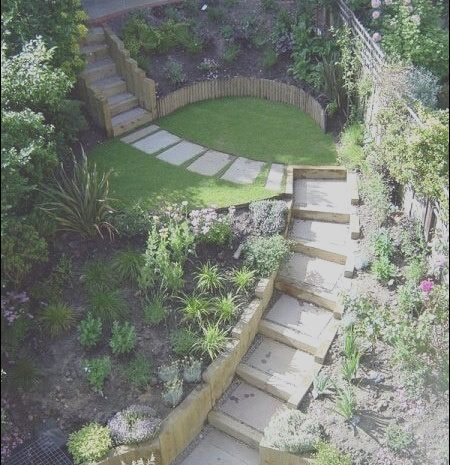 10 Remarkable Stairs On Slopes Design Ideas Photos