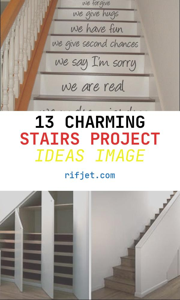 Stairs Project Ideas Fresh 40 Diy Stair Projects for the Perfect Home Makeover