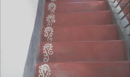 Stairs Rangoli Design Inspirational Stairs Pious Art In 2019