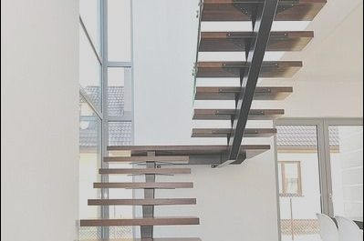 Stairs Wooden Steel Inspirational Half Turn Staircase Wooden Steps Metal Frame Open