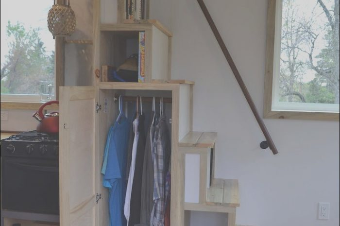 11 Clever Tiny House Loft Stairs Ideas Gallery