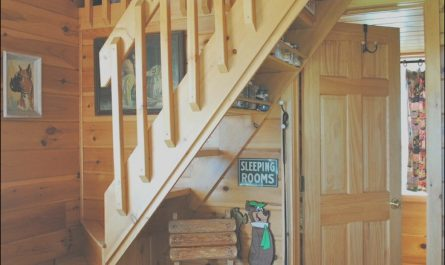 Tiny House Stairs Ideas Elegant Badrap Tiny Cabin Stairs to Bedroom Loft