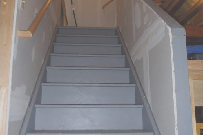 8 Unusual Unfinished Basement Stairs Ideas Stock