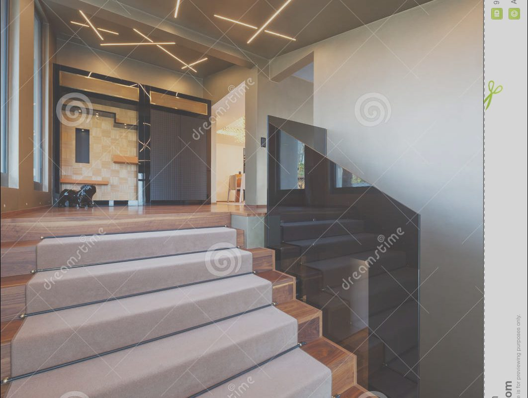 Villa Stairs Design Fresh Staircase In A Modern Villa Stock Image Of Window
