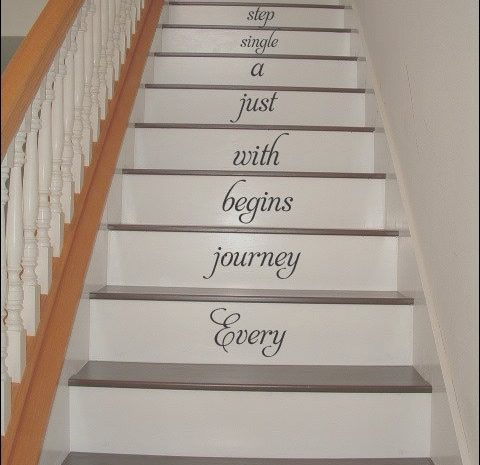 10 Lively Vinyl Home Decor Stairs Photos