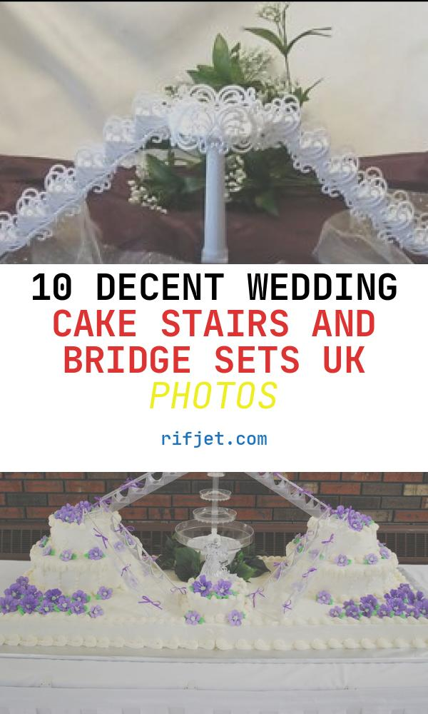 10 Decent Wedding Cake Stairs and Bridge Sets Uk Photos