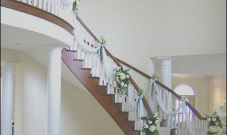 Wedding Staircase Decor Ideas Awesome Wedding Decorations for Staircases