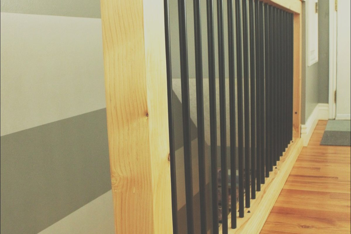 Wooden Hand Rails for Stairs Best Of Diy Stair Handrail with Industrial Pipes and Wood