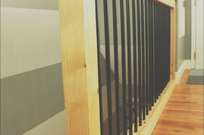 13 Simple Wooden Hand Rails for Stairs Photography