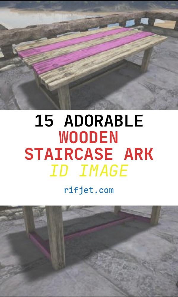 15 Adorable Wooden Staircase Ark Id Image