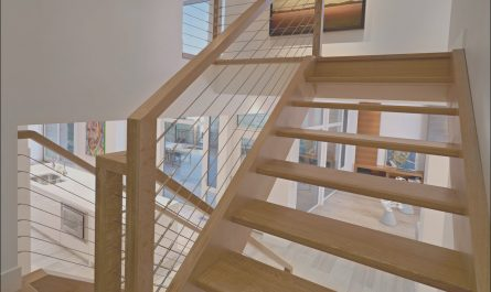 Wooden Stairs Edmonton Elegant Wood & Metal Stairs Contemporary Home In Edmonton Canada