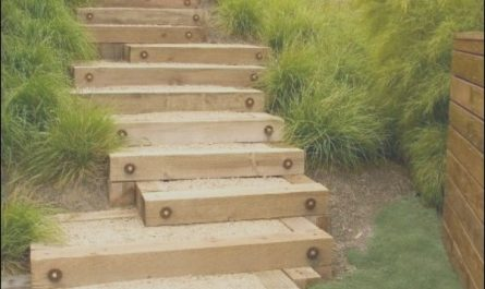 Wooden Stairs Garden Luxury Garden Steps with Wood
