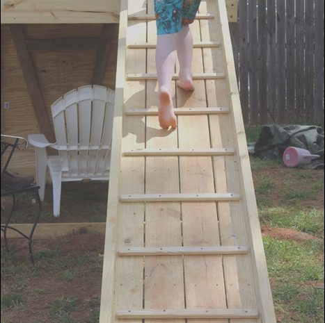 10 Good Wooden Swing Sets with Stairs Photos