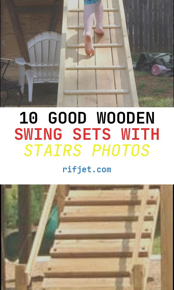 Wooden Swing Sets with Stairs New Diy Swing Set Wrapping Things Up