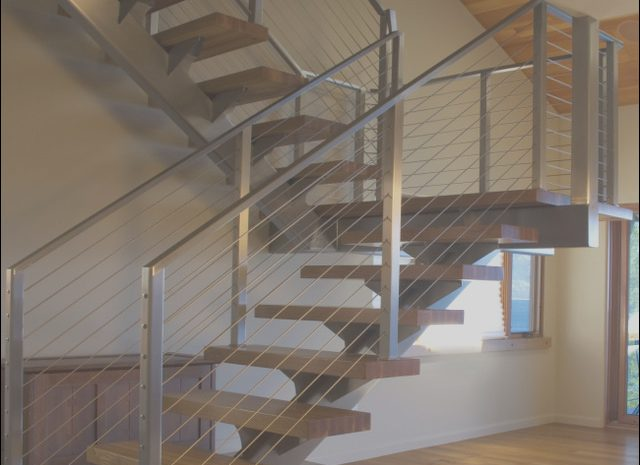 14 Remarkable Cable Railing Stairs Modern Photography