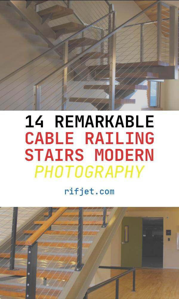 Cable Railing Stairs Modern Luxury Stair Cable Railing Modern Staircase by Ultra Tec