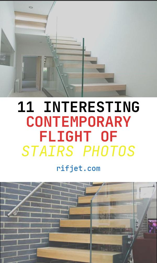 Contemporary Flight Of Stairs Elegant Prefabricated Straight Flight Staircase Luxury Modern