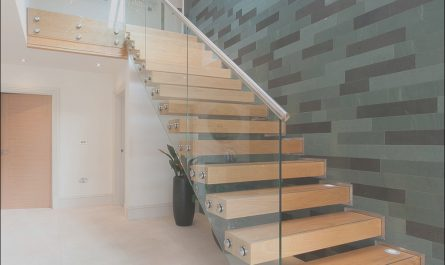Contemporary Floating Stairs New China Contemporary Floating Staircase with Wood Tread