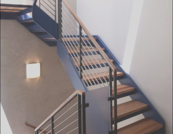8 Regular Contemporary Handrails for Stairs Photos