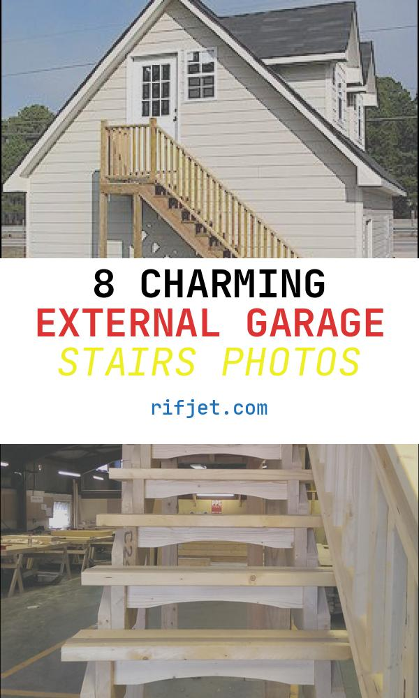 8 Charming External Garage Stairs Photos