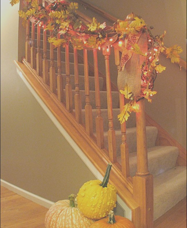 Fall Stairs Decor Elegant 30 Cozy Fall Staircase Décor Ideas