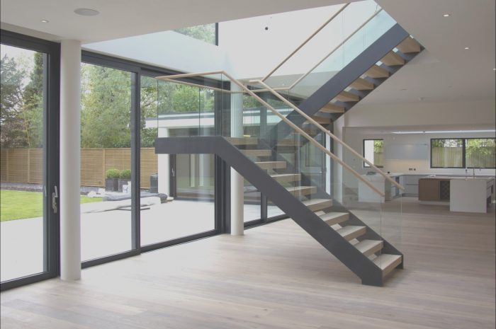 14 Fabulous Free Standing Stairs Design Image