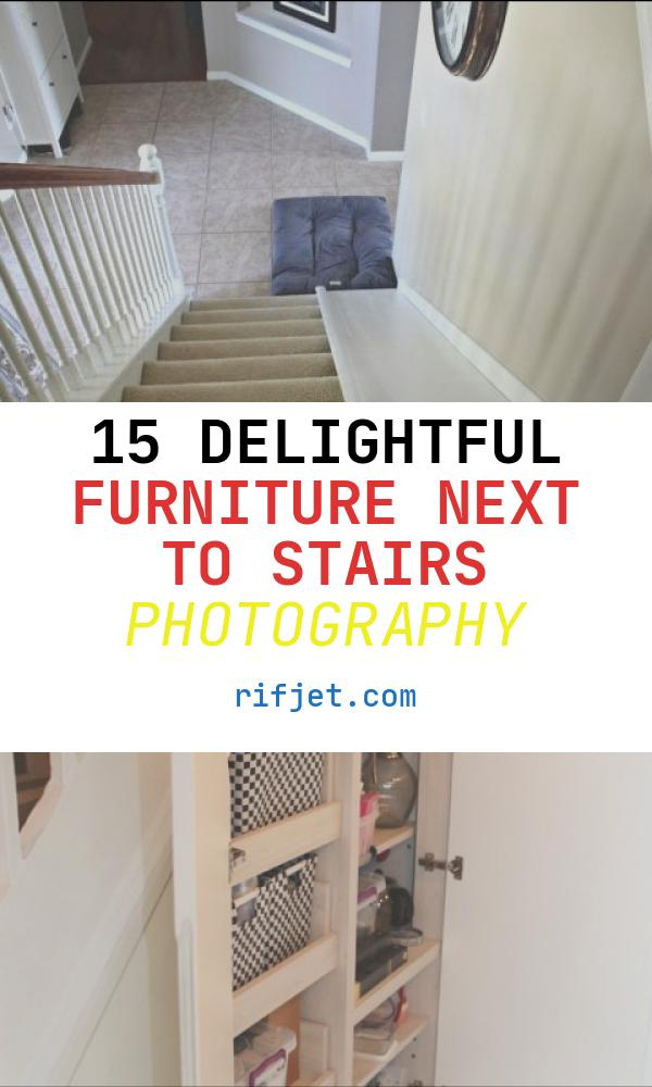 15 Delightful Furniture Next to Stairs Photography
