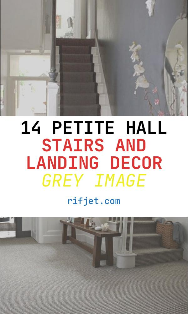 Hall Stairs and Landing Decor Grey New Dark On White Stairs