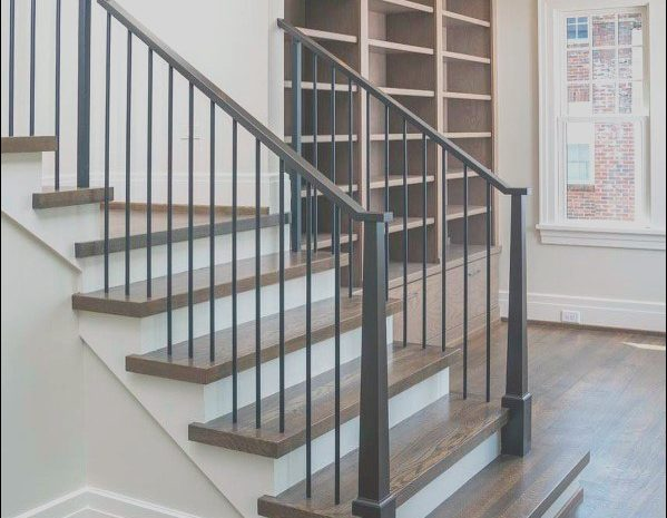 12 Quirky Handrail Ideas for Interior Stairs Gallery