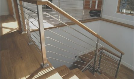 Handrails for Stairs Interior Awesome Oak & Stainless Steel Interior Railing Contemporary