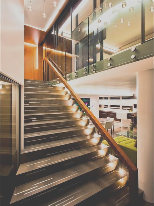 Images Of Contemporary Stairs Luxury 10 Stairway Lighting Ideas for Modern and Contemporary