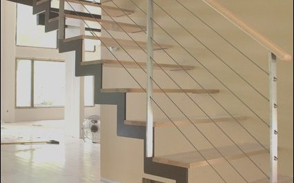 Images Of Modern Stairs Lovely Zig Stair Modern Staircase Chicago by Iron & Wire Llc