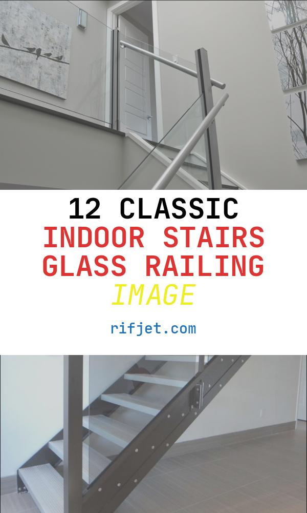 Indoor Stairs Glass Railing Luxury Glass Railing Indoor