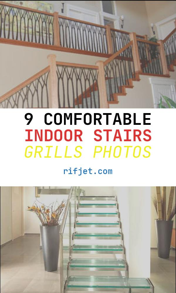 9 Comfortable Indoor Stairs Grills Photos