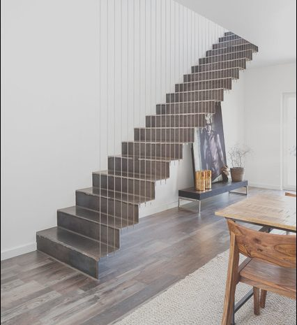 15 Practical Industrial Stairs Design Photos