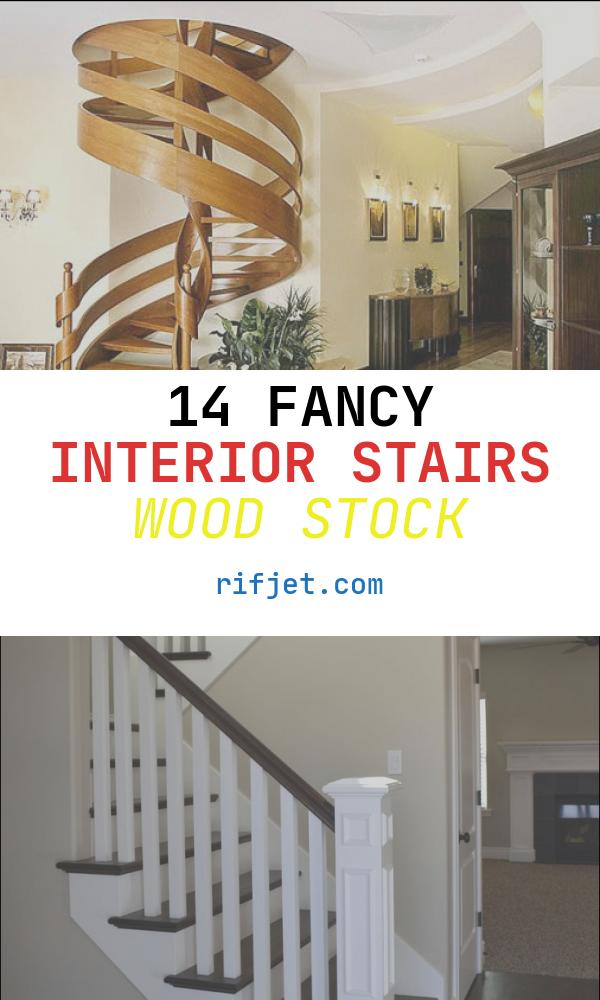 14 Fancy Interior Stairs Wood Stock